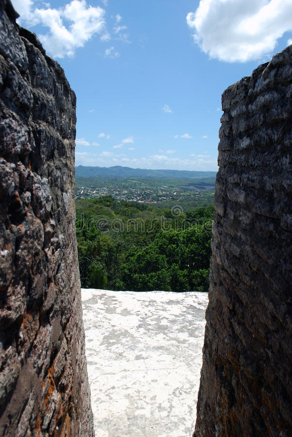 View from Ruins royalty free stock photos