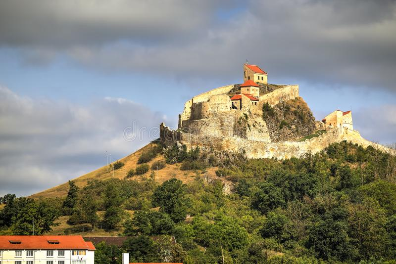 Rupea fortress, Romania royalty free stock photo