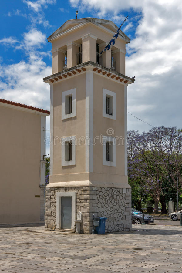View of Saint Andrew Church, the largest church in Greece, Patras, Peloponnese, Greece. View of Saint Andrew Church, the largest church in Greece, Patras stock photos