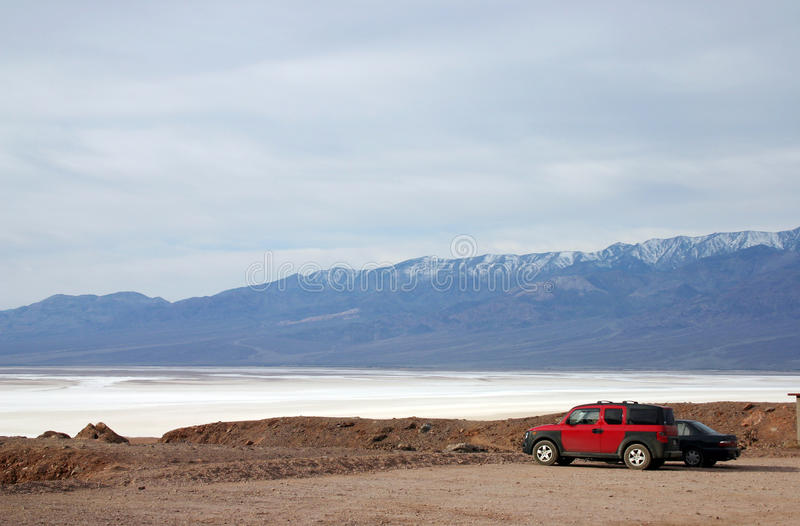 Download A View Of Salt Lake In Death Valley Stock Image - Image: 13294901