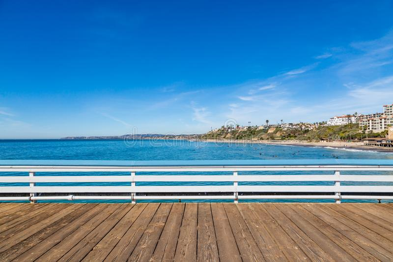 A View from San Clemente Pier, Southern California royalty free stock photos