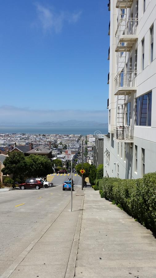 View in San Francisco stock images