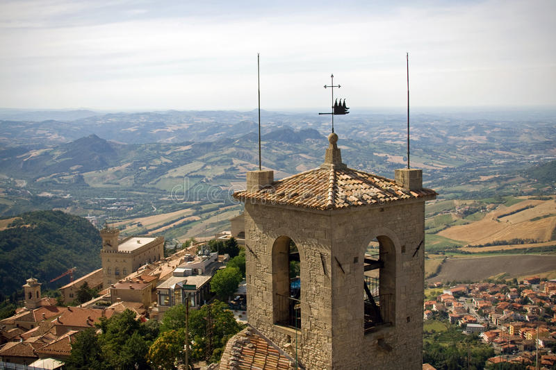 View from San Marino castle