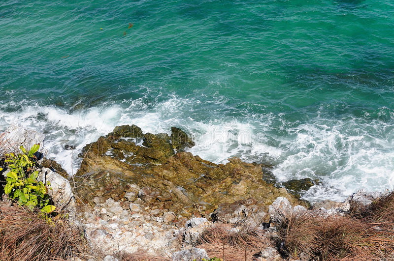 View on the sea stock photography