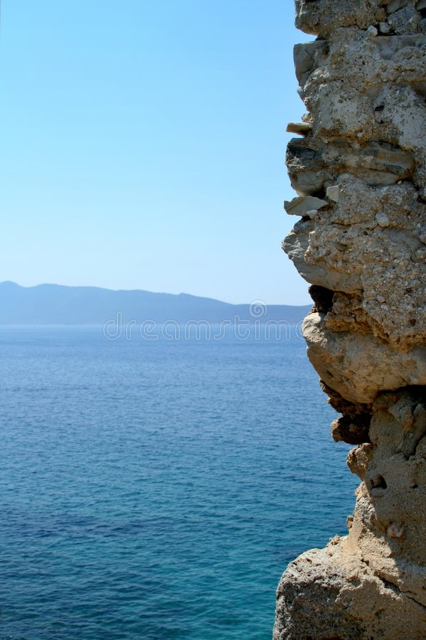 View on the sea royalty free stock images