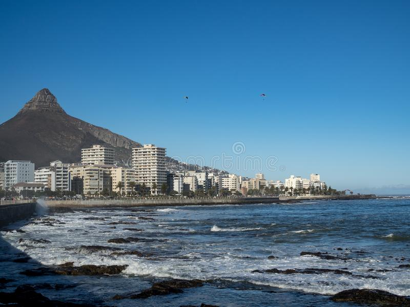 Sea Point Cape Town South Africa stock photography