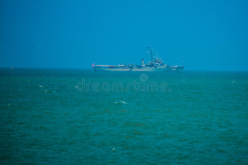 View of the sea. Thailand. royalty free stock images