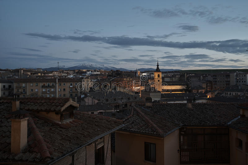 View from Segovia stock image