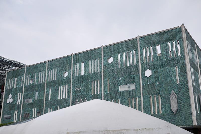 View of 18 Septemberplein building stock photo