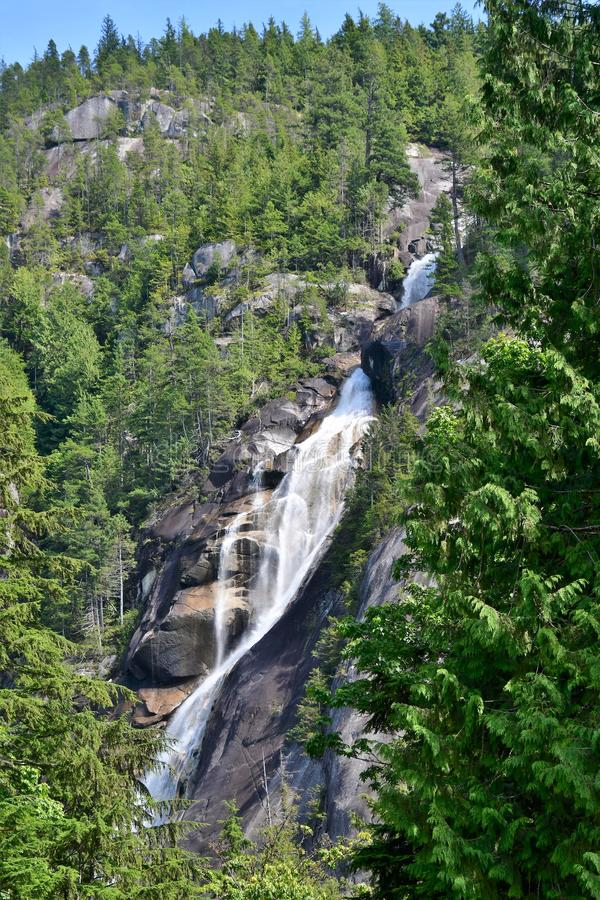 A View of Shannon Falls. 
