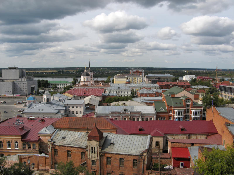 Download View Of The Siberian City Tomsk Stock Photo - Image: 24996058