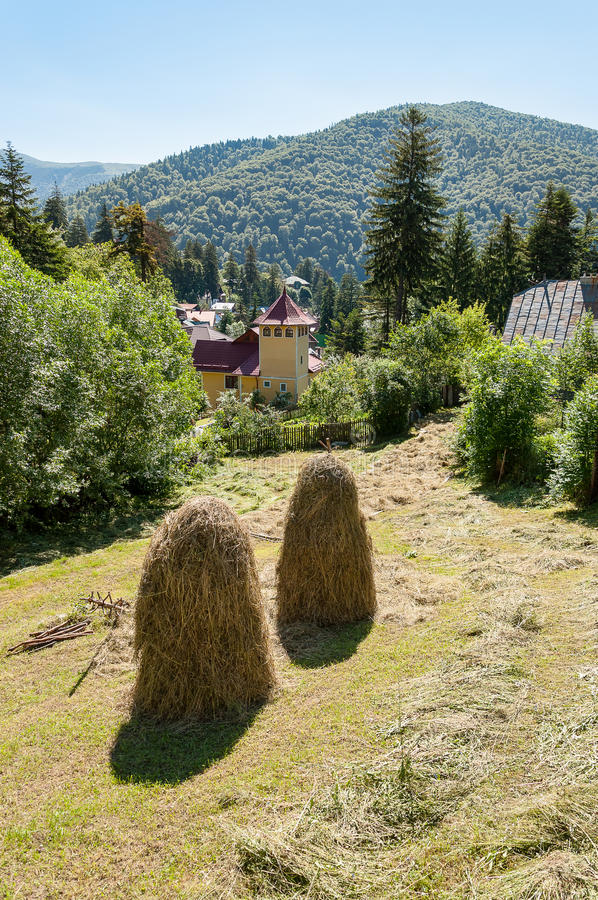 View from Sinaia royalty free stock images
