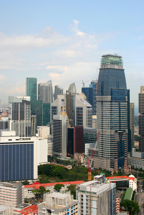 Download View Of The Singapore City From The Skybridge Editorial Stock Photo - Image: 20733273