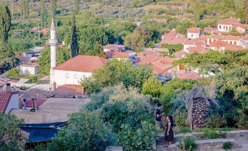 View of Sirince,a popular destination in Selcuk,Izmir,Turkey royalty free stock photos