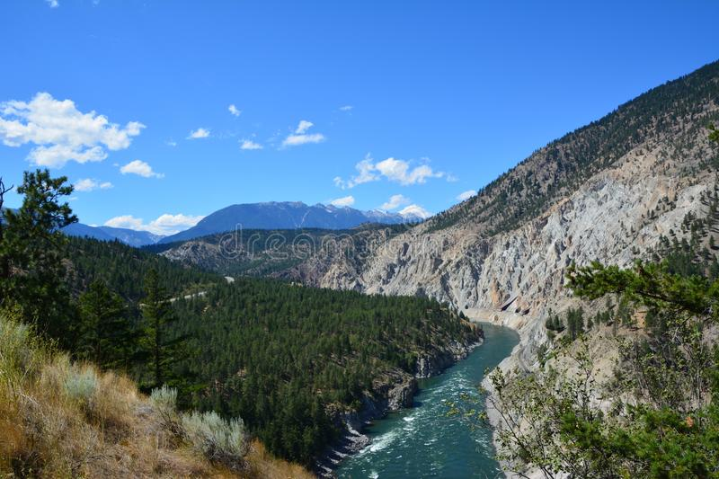 View from Skihist. Amazing view from skihist provincial park stock photography