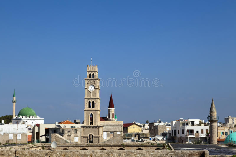Download Old Acco Skyline stock image. Image of horizontal, building - 30033949