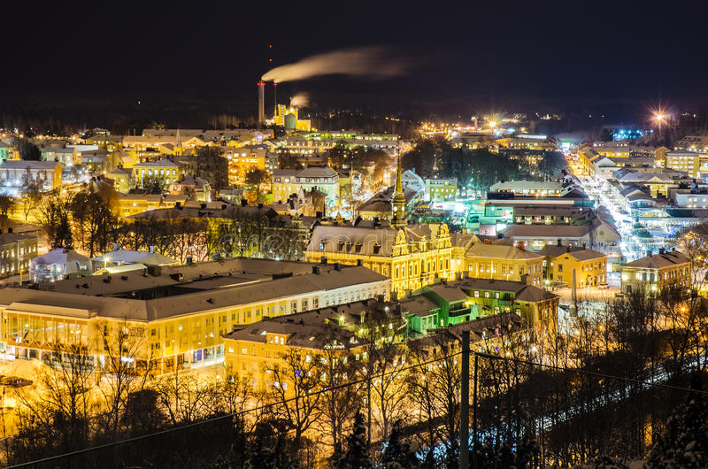 Download View Of Small Swedish Town Stock Photo - Image: 83712434