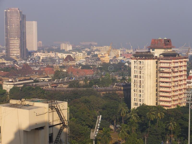 View of South Mumbai in India. View of South Mumbai in Maharashtra, India royalty free stock image