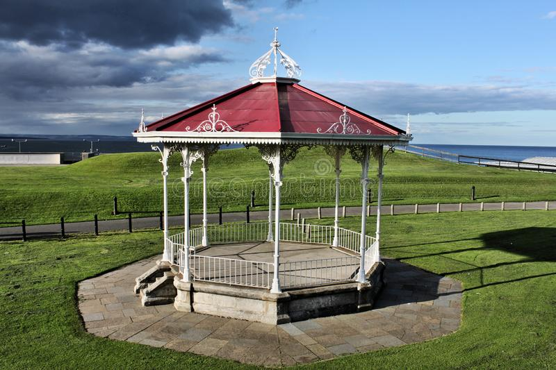 A view of St Andrews Band Stand royalty free stock image
