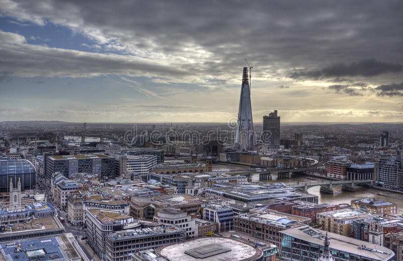 Download View from St. Pauls stock photo. Image of church, london - 24140898