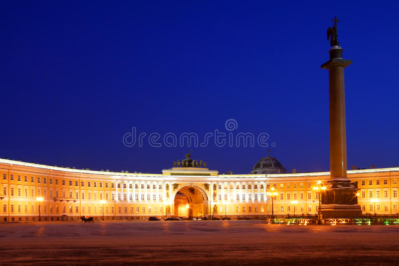 View of St. Petersburg royalty free stock photo