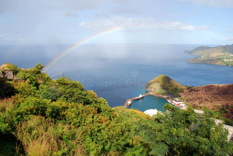View of St. Vincent royalty free stock images