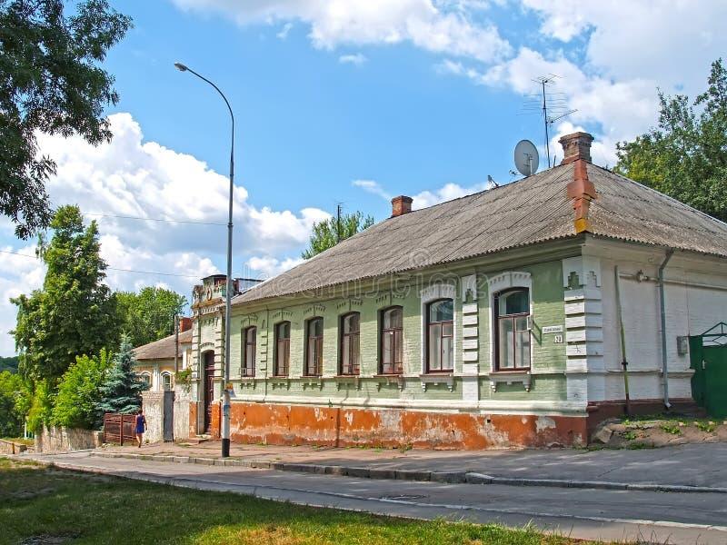 View of Stary Boulevard. Zhytomyr, Ukraine.  stock photography