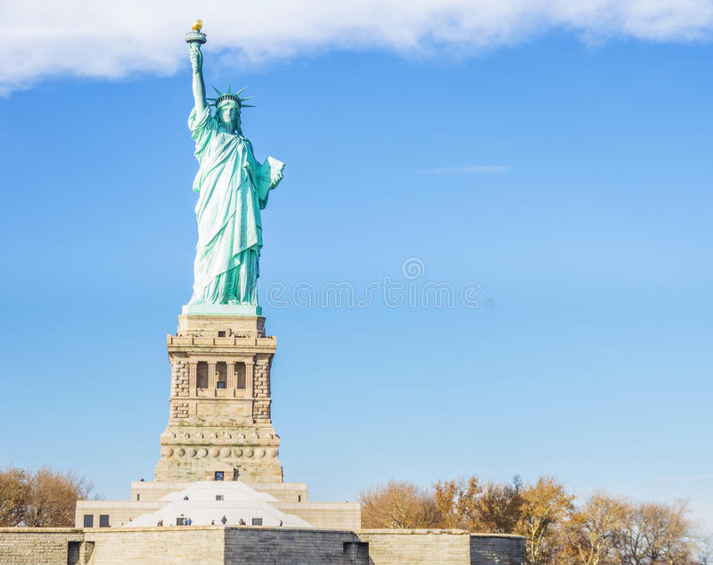 Download View of Statue of Liberty stock image. Image of democracy - 36970391
