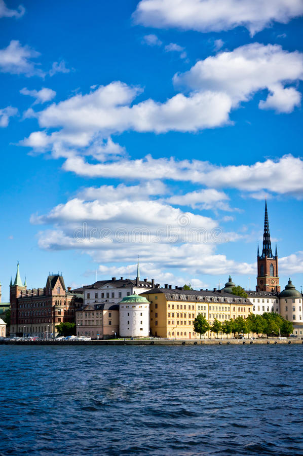 Stockholm old city, Sweden stock photos