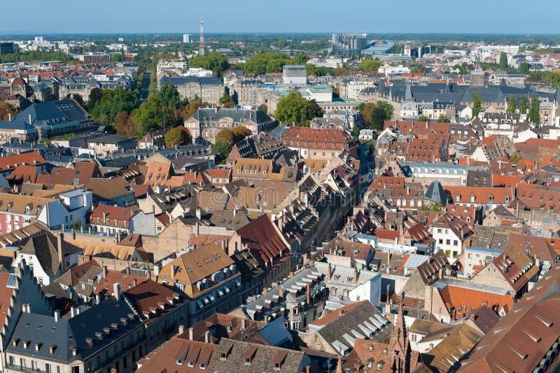 View On Strasbourg Royalty Free Stock Photo
