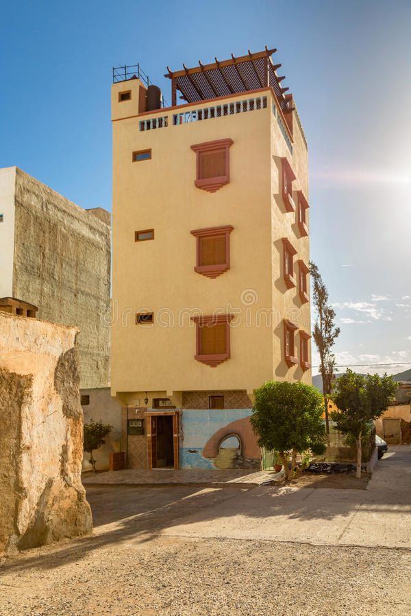 Download View Of The Streets In Sidi Ifni, Morocco Stock Photo - Image: 83716969