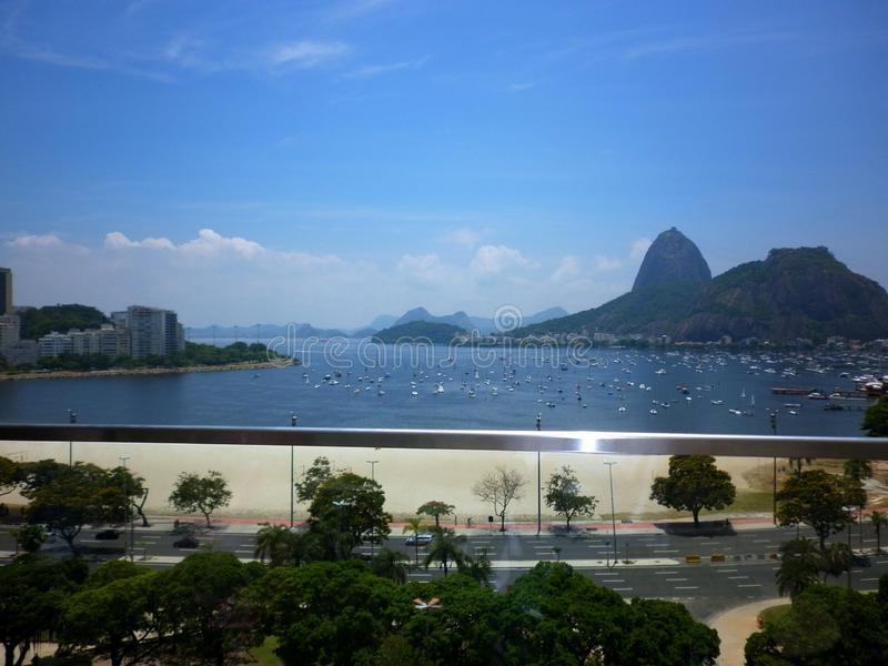 View of sugar loaf royalty free stock photography