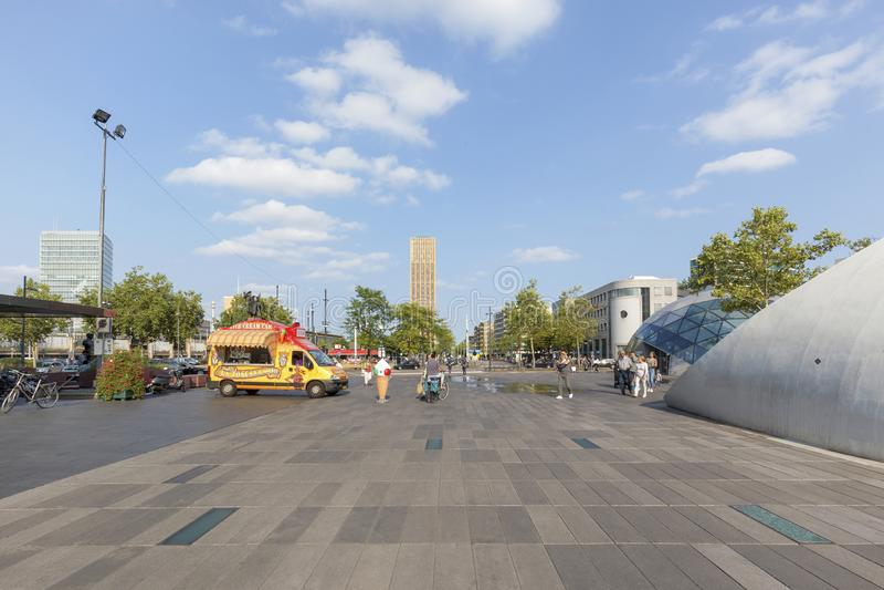 18 September Square, Eindhoven, Netherlands stock photo