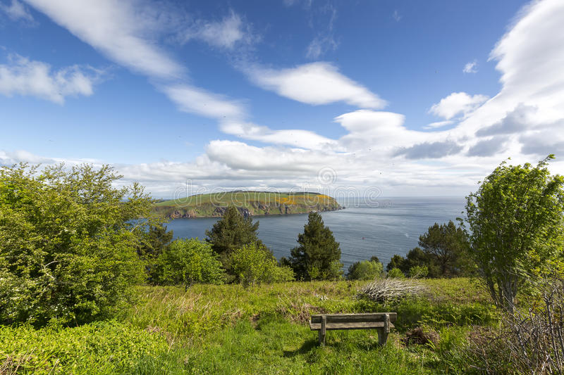 View from Sutors of Cromarty, Scotland stock photos