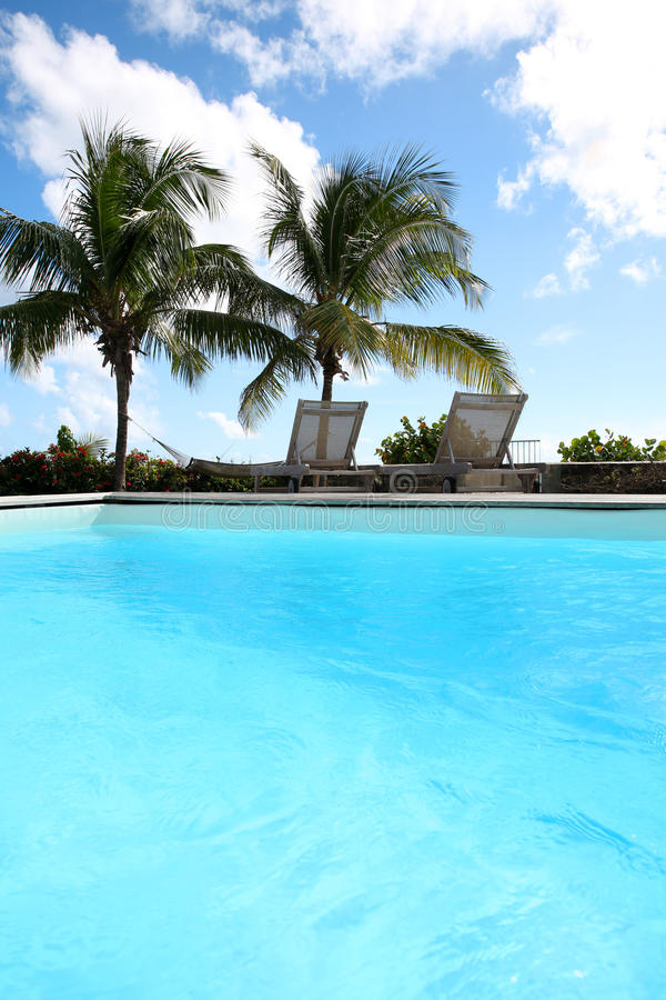 Download View of swimming pool stock photo. Image of exterior - 28517778