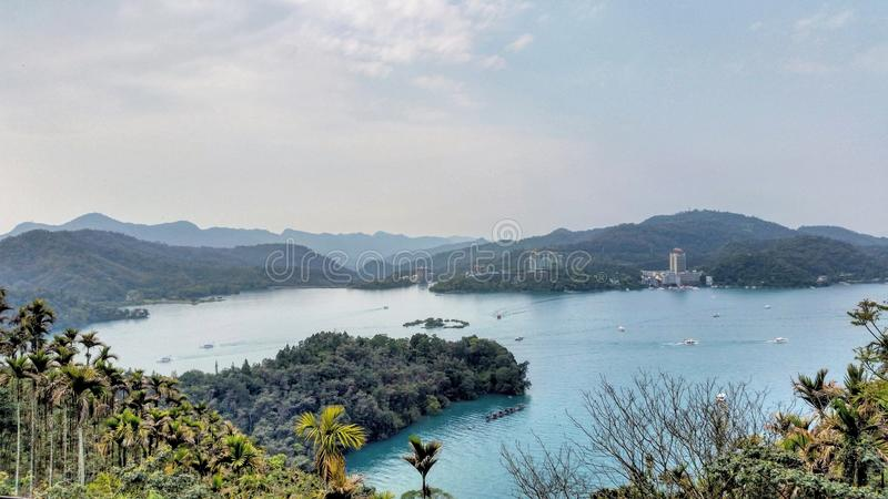 view in taiwan stock image
