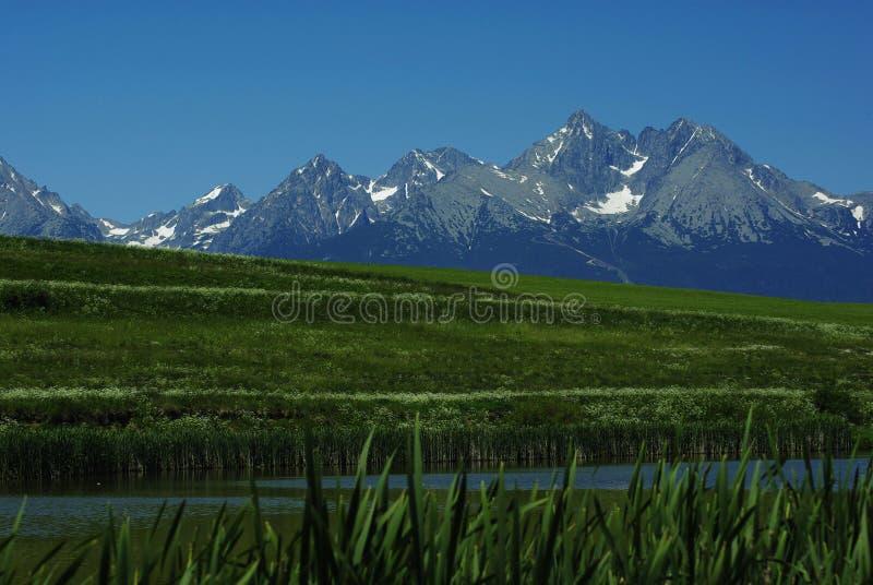 Download View on Tatras Peaks stock image. Image of tatras, green - 11248305
