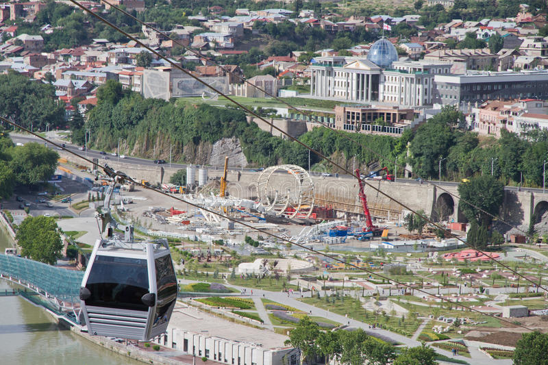 View of Tbilisi royalty free stock images
