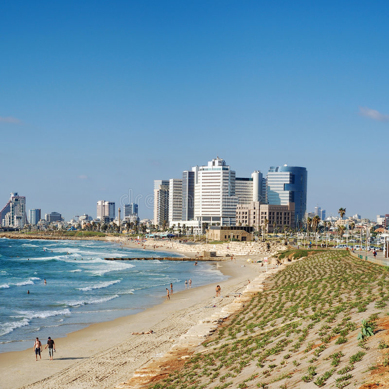 Download View on Tel-Aviv stock photo. Image of vacations, color - 2742486