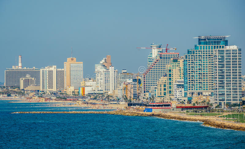 View in Tel Aviv royalty free stock images