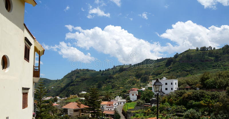View from Teror stock photo