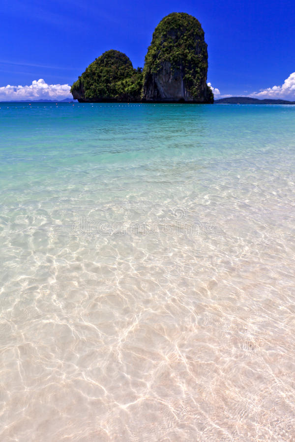 View Of Thai Sea, South Of Thailand Royalty Free Stock Image