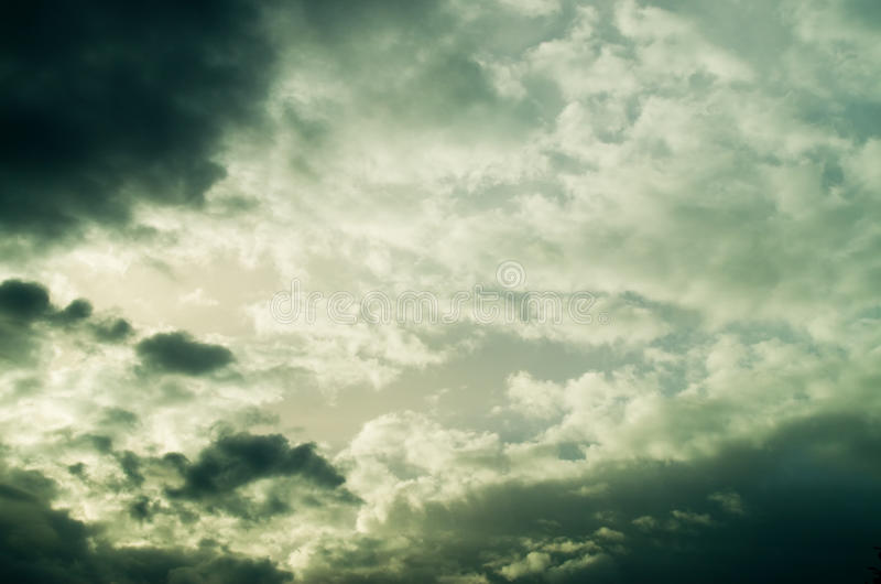 Download View Of Thunderstorm Clouds Stock Photo - Image: 31503644
