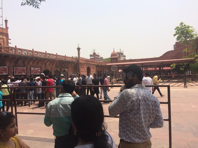 The Taj Mahal,Agra,India stock photos