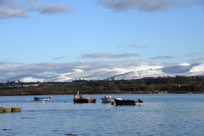View to Caernarfon royalty free stock photos