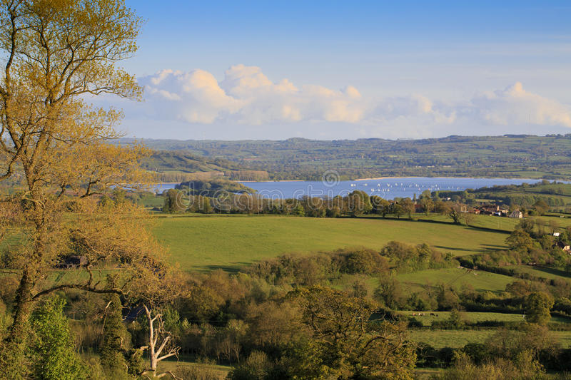 Download View To Chew Valley Lake Reservoir Stock Photo - Image of natural, country: 24841098