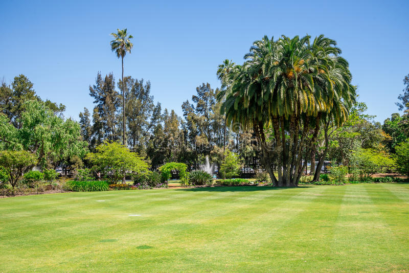Download A View To Government House Park, Lawn And Landscaped Gardens In  Perth City Stock
