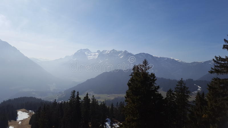 View to the Hintersee stock photos