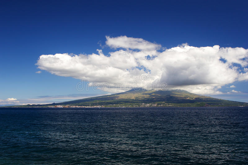 Download View To The Pico Over The Sea Stock Image - Image of coast, azores: 19167933