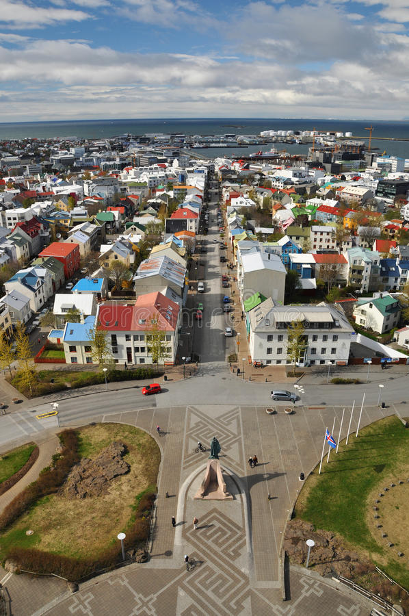 Download View To Reykjavik Downtown, Iceland Stock Image - Image of iceland, nordic: 19283683